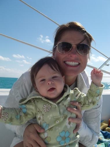 at sea with seava & auntie ricci